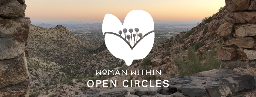 Woman Within Open Circle Phoenix